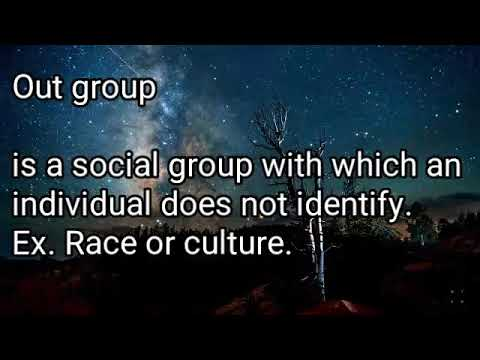 How society is organize social group