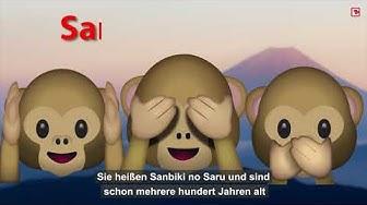 Die Bedeutung der Affen-Emojis WhatsApp
