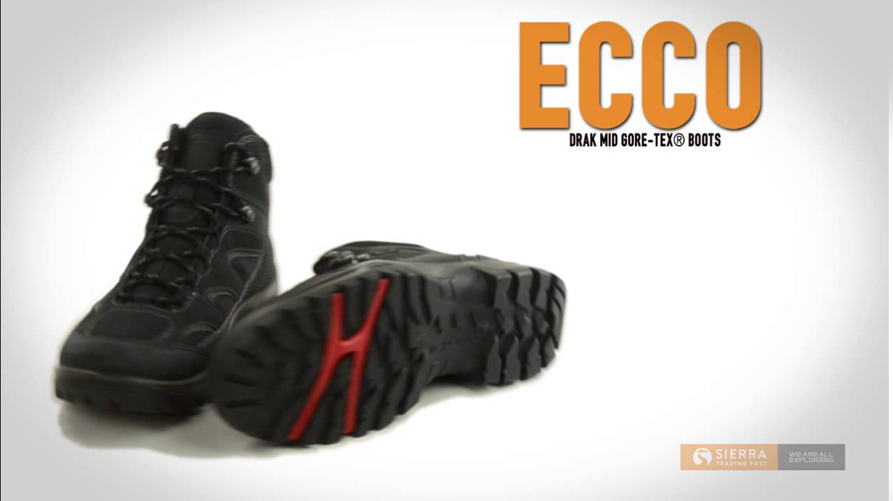95e72a7a4c73 ECCO Drak Mid Gore-Tex® Boots - Waterproof (For Men) - YouTube