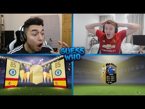 THE PACK KING 👑 GUESS WHO FIFA vs CapGunTom 🔥 (GUESS WHO PACKS)