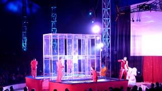 Cirkus Scott: Jumping Jacks - Trampoline Jump against wall - 2012 July