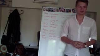 Презентация студентов Программы обучения SunNY IT College