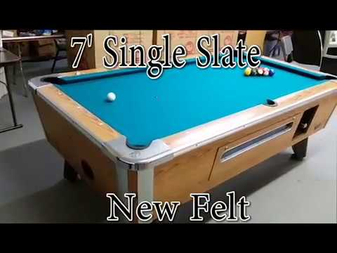Valley Cougar pool tables - Coin-op  for your home