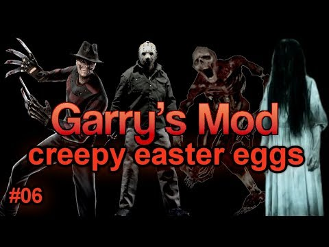 Garry's Mod CREEPY Easter Eggs And Secrets | Episode 06