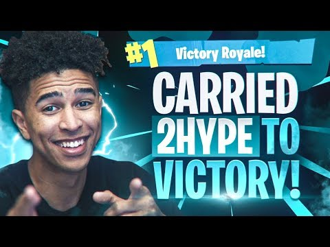 LSK & JESSER CARRIES 2HYPE TO VICTORY! Fortnite Battle Royale