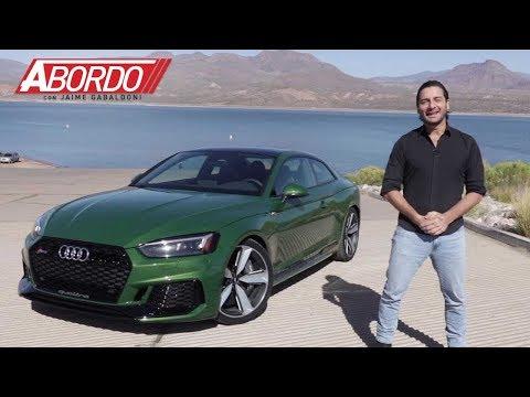 Audi RS5 2018 | Prueba A Bordo Completa