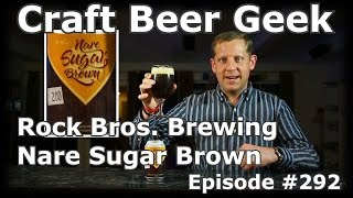 Rock Bros Brewing/Cigar City, JJ Grey Nare Brown Ale, Craft Beer Geek 292