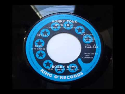 Bobby Keys Honky Tonk Parts 1 and 2 1975 Ring O Records 45 rpm