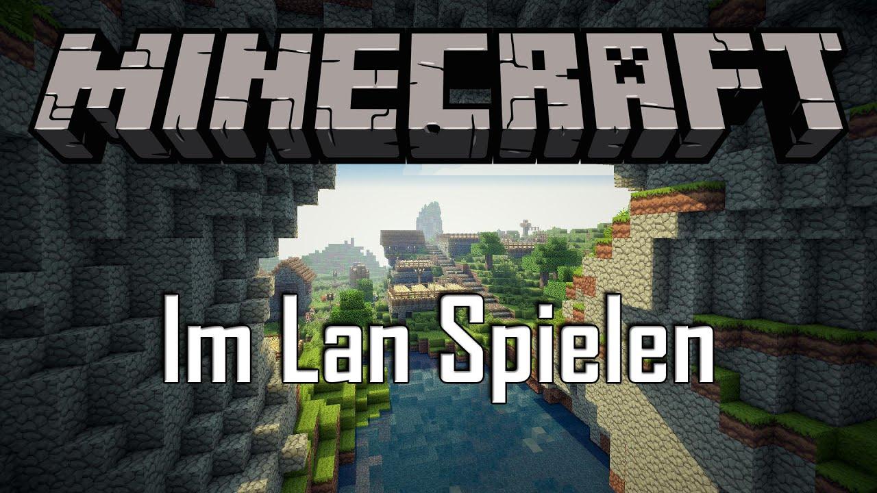 Minecraft Im Lan Spielen Schnell Und Ohne Hilfsmittel Wie - Minecraft offline zu zweit spielen pc