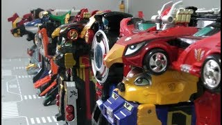 Power Rangers RPM All Megazord Toys  파워레인저 엔진포스 로봇 장난감 모음