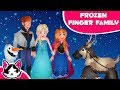 Finger Family Frozen Disney | Frozen Songs Cartoon Baby Learning Song