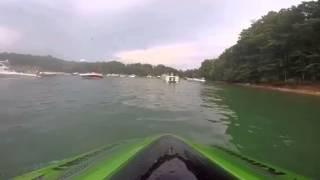 2015 Kawasaki ultra 310lx lake Lanier poker run 2015