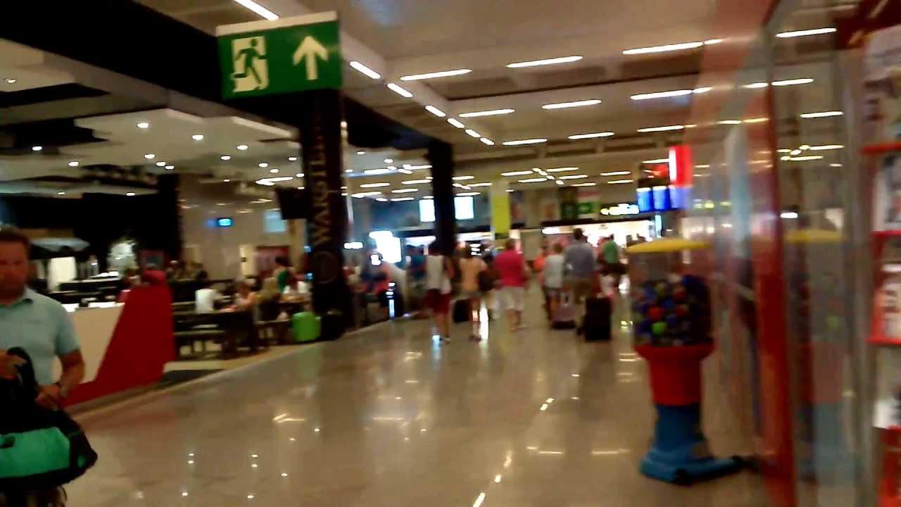 shopping in airport de palma de mallorca duty free youtube. Black Bedroom Furniture Sets. Home Design Ideas