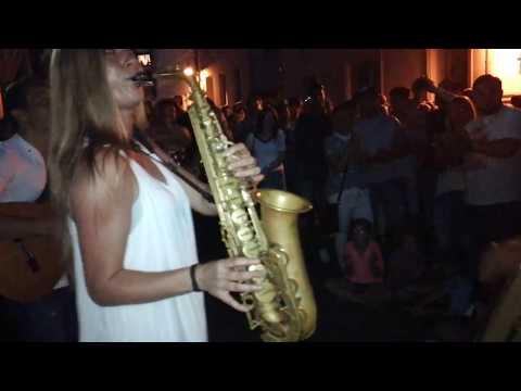 Despacito- German saxophone version@ Paderborn, Germany