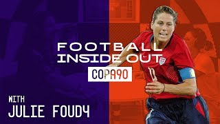 Julie Foudy on THAT Brandi Chastain Penalty   Football Inside Out Podcast sponsored by Visa