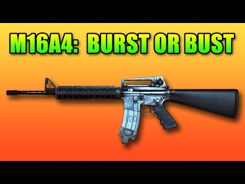 M16A4 Review: Can Burst Fire Be Good? (Battlefield 4 Gameplay/Commentary)