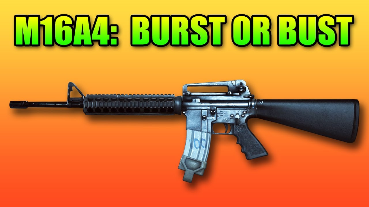 M16A4 Review: Can Burst Fire Be Good? (Battlefield 4 ... M16a4 Bf3