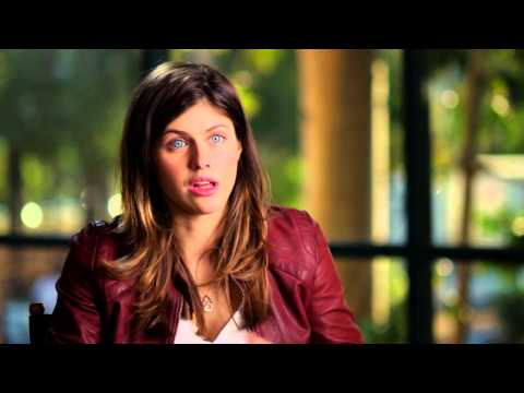 "San Andreas: Alexandra Daddario ""Blake"" Behind the Scenes Movie Interview"