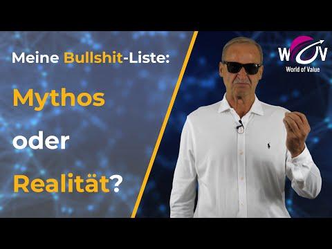 Meine Bullshit-Liste: Mythos oder Realität? - Florian Homm spricht Klartext