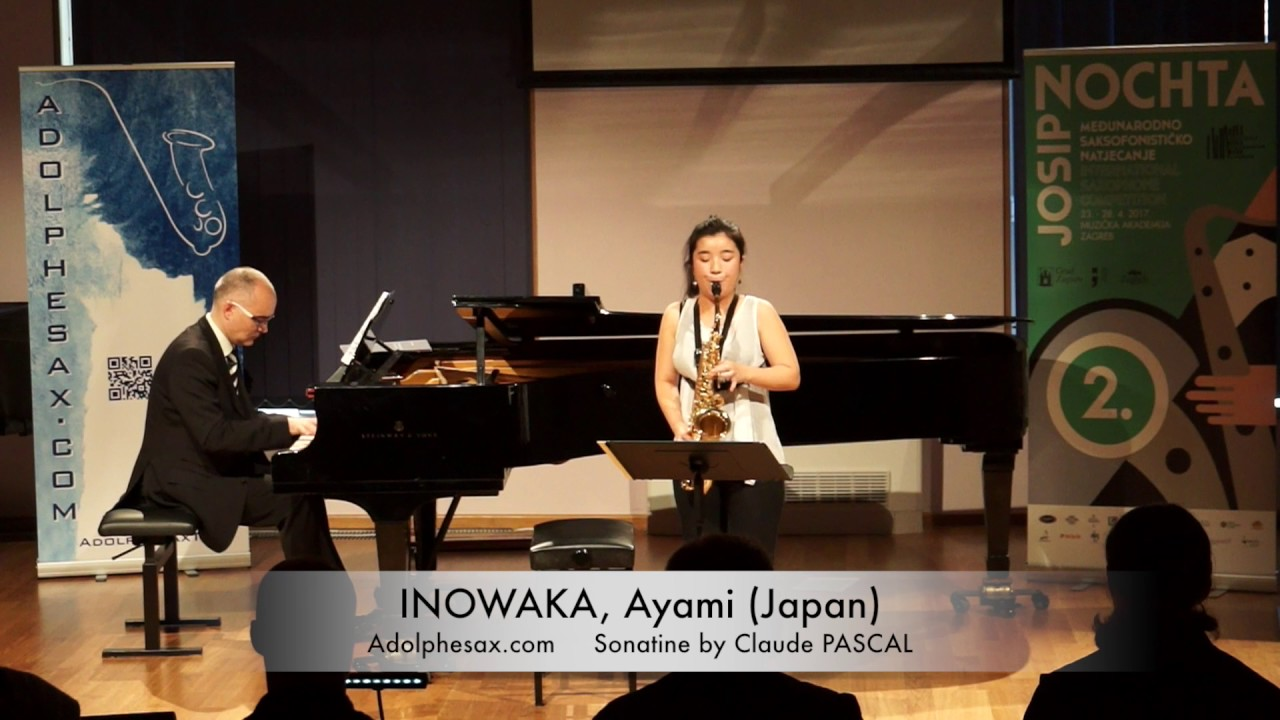 Sonatine by Claude PASCAL – INOKAWA, Ayami (Spain)