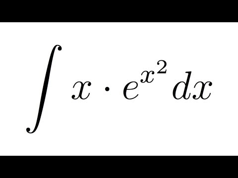Integral Of X E 2 Subsution