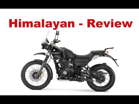The Best Lightweight Touring Motorcycles. Royal Enfield Himalayan 2018 - Test Ride & Review