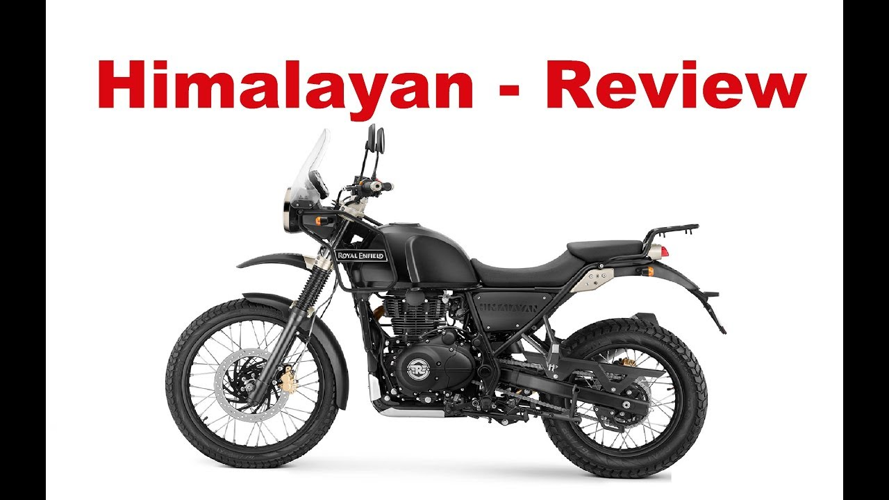 Royal enfield himalayan bs4 test ride review
