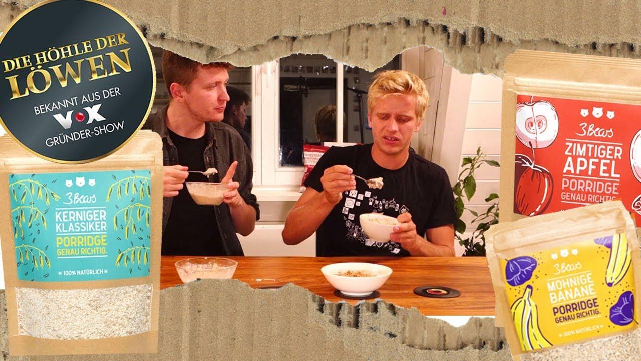 h hle der l wen 3 bears porridge wirklich so lecker wir testen zubereitung fr chte und. Black Bedroom Furniture Sets. Home Design Ideas