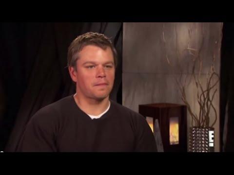 Matt Damon - Extreme Close Up