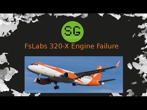 [FSX#2] FsLabs A320-X Engine Failure [Stream][Deutsch] mit Banshe | Saftergaming