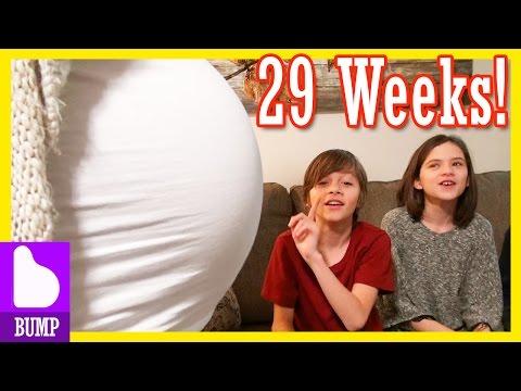 BABY BUMP UPDATE!  Week 29!  |  KITTIESMAMA