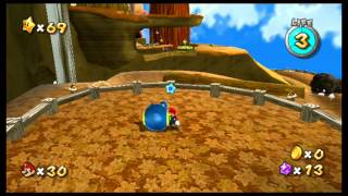 71. [60 FPS] The Bell on the Big Tree - Gold Leaf Galaxy - Super Mario Galaxy