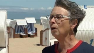 Normandie : les corbeilles de plages de Merville Franceville