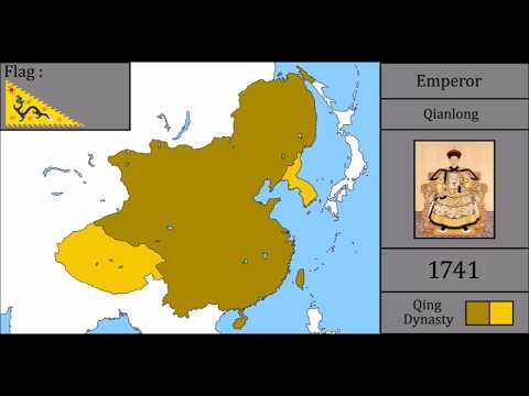 History of Qing Dynasty : Every Year