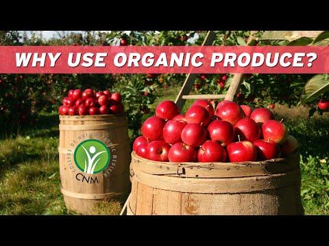 Why use Organic produce?