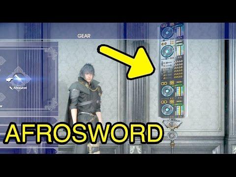 Final Fantasy XV: Afrosword