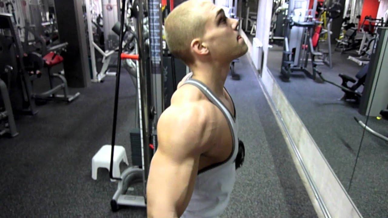 545113fa3 *HARDCORE* Shoulder Workout by Natural Bodybuilder Polska Genetics & Niki  Gojani + Posing!!!