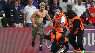 Pitch invader in the Final | England - Italy | Euro 2020