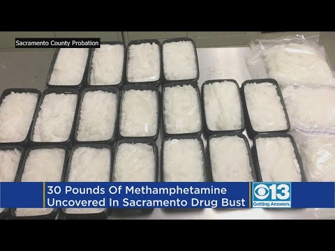 30 Pounds Of Meth Found After Probation Search In South Sacramento
