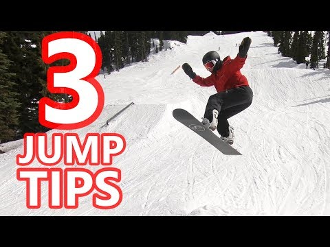3 TIPS TO JUMP & LAND SNOWBOARD TRICKS