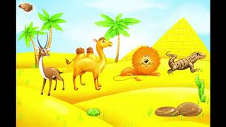 Learn animals for kids: names & sounds! Educational game.