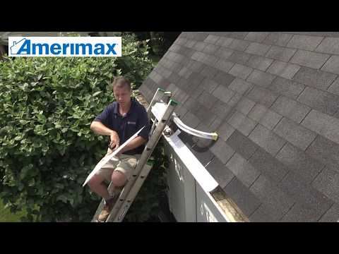 How To Install Amerimax Snap In Filter Gutter Guards Youtube
