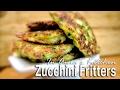 Zucchini Fritters Low Carb - Placki Z Cukini Niskoweglowodanowe - Recipe #266