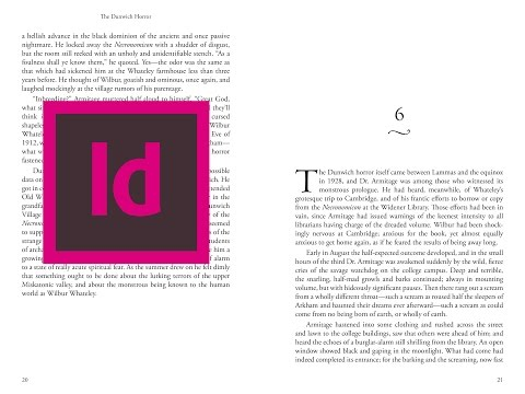 Indesign CC: How to format a novel from start to finish