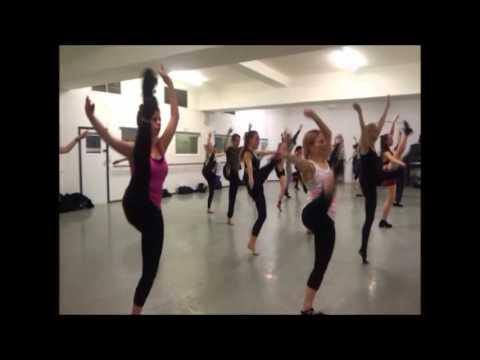 Karen Estabrook's Commercial Jazz - Gen/int level Pt1 @ Pineapple Dance Studios London UK