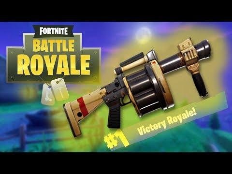 Legendary Grenade Launcher Bounce! - Fortnite Battle Royale Xbox One Gameplay
