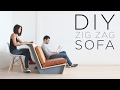 "DIY ""Zig Zag"" Sofa 