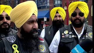 Sikh Motorcycle Club @ Vancouver Chinese New Year Parade 2015