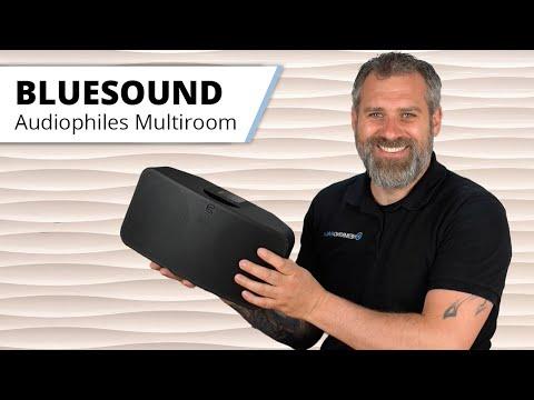 BLUESOUND - Multiroom Lautsprecher und Soundbar ähnlich wie Sonos, aber klingt viel besser...