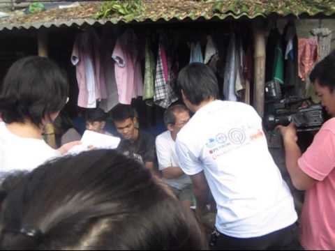 Your Christmas Lights: Gift Giving Program - Sitio Ferry - December 28, 2011